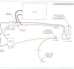 2012 KTM 150XC HEADLIGHT INSTALL WIRING DIAGRAM